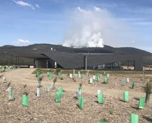 Controlled burn, Mount Macedon